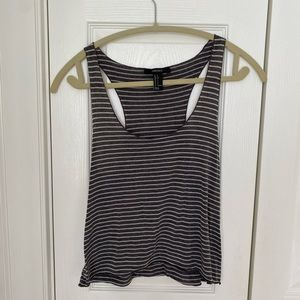 🔵(3/$20) Forever 21 gray tank top size small
